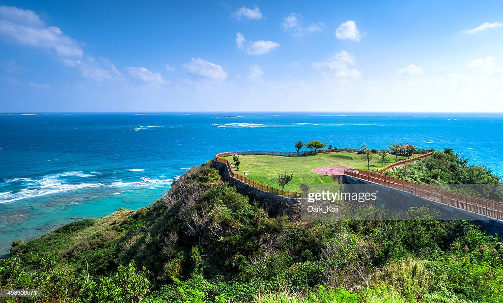 Chinen Cape | Okinawa : Stock Photo