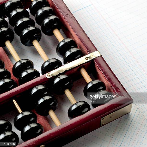 chinese abacus - abacus stock photos and pictures