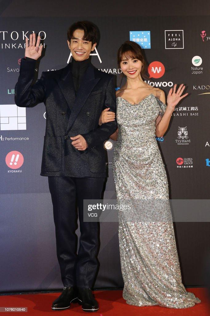 Chinese actor Jasper Liu and Japanese actress Reina Ikehata