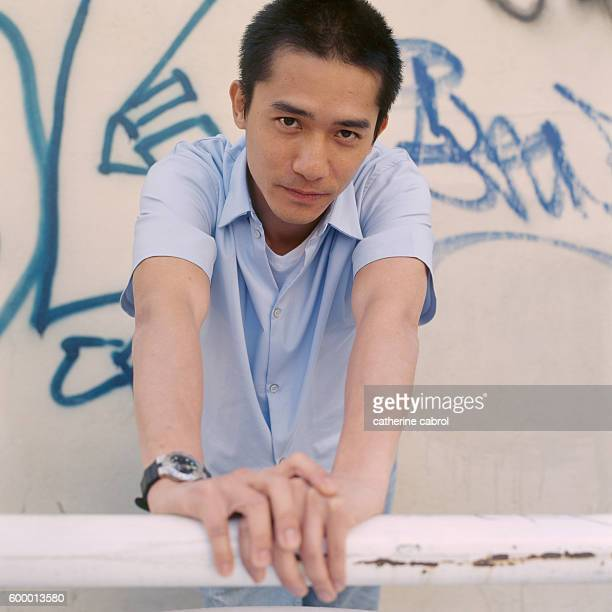 Chinese actor Tony Leung during the 1998 Cannes Film Festival