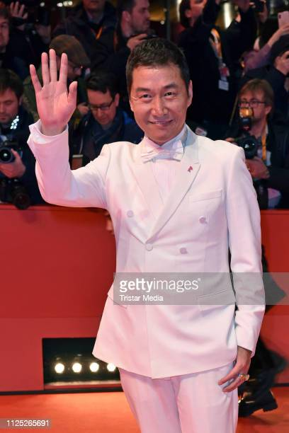 Chinese actor Zhao Yanguozhang arrives for the closing ceremony of the 69th Berlinale International Film Festival Berlin at Berlinale Palace on...