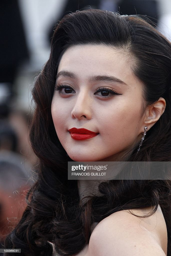 Chinese actress Fan Bing Bing arrive for the screening of 'Des Hommes et des Dieux' (Of God and Men) presented in competition at the 63rd Cannes Film Festival on May 18, 2010 in Cannes.