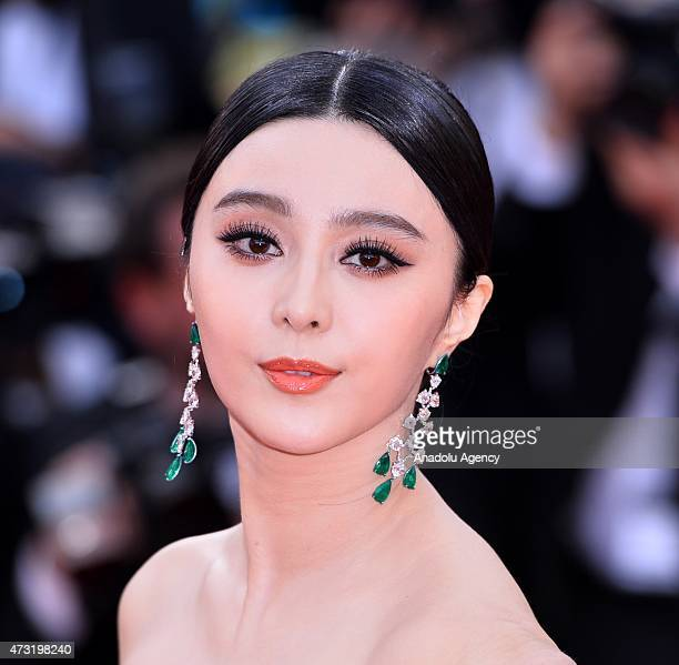Chinese actress Fan Bingbing arrives for the screening of the film La Tete Haute and the opening ceremony of the 68th Cannes Film Festival in Cannes...