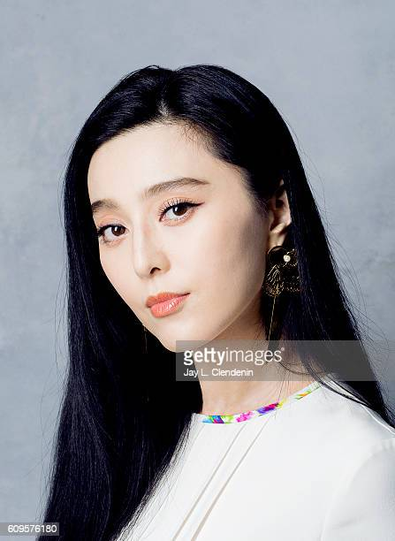 Chinese actress Fan Bingbing of 'I Am Not Madame Bovery' poses for a portraits at the Toronto International Film Festival for Los Angeles Times on...