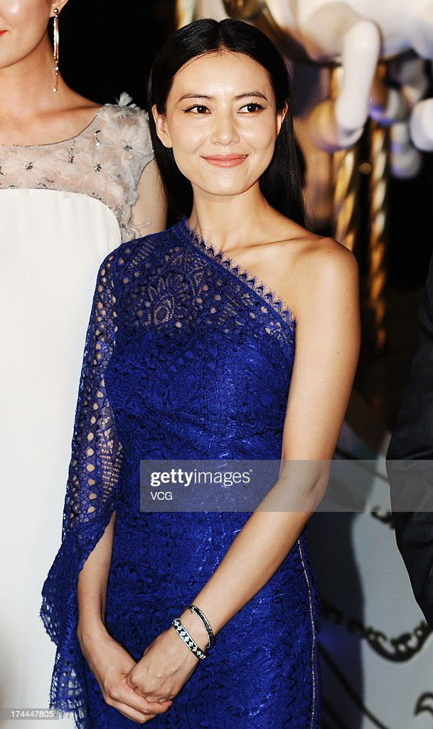 Gao Yuanyuan Attends Commercial Event In Shanghai