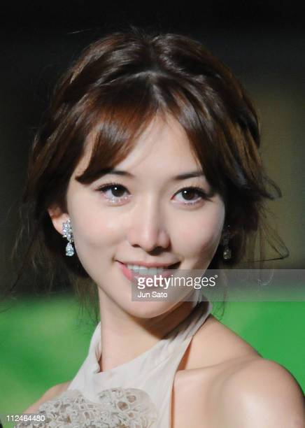 Chinese actress Lin ChiLing attends the 21st Tokyo International Film Festival Opening Ceremony at Roppongi Hills on October 18 2008 in Tokyo Japan...
