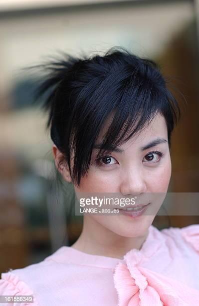 Chinese Actress Wang Fei Plan de face souriant de WANG FEI