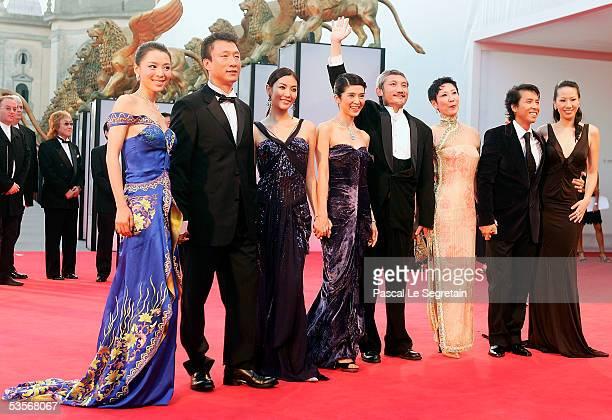 Chinese actress Zhang Jingchu actor Sun Honglei Korean actress Kim So Yeon Taiwanese actress Charlie Yeung director Tsui Hark Kenji KawaiDonnie Yen...