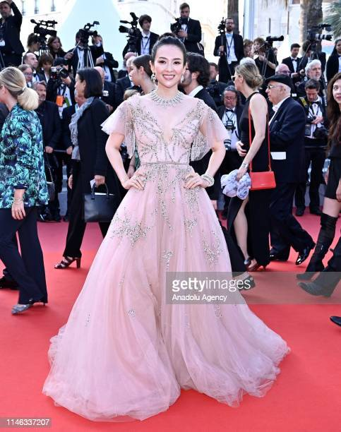 Chinese actress Zhang Ziyi arrives for the Closing Awards Ceremony of the 72nd annual Cannes Film Festival in Cannes France on May 25 2019