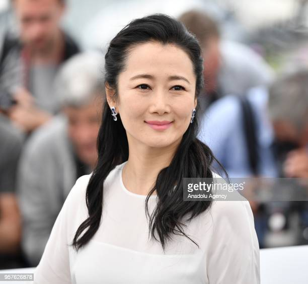 Chinese actress Zhao Tao poses during the photocall for the film 'Ash Is Purest White' in competition at the 71st Cannes Film Festival France on May...