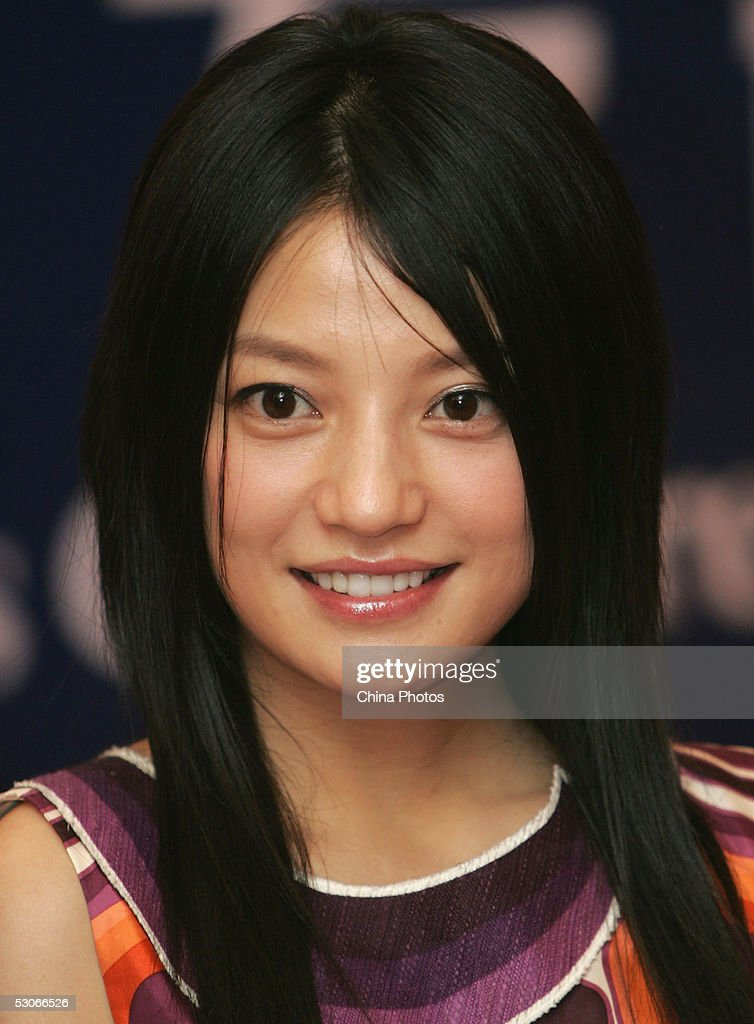 Chinese actress Zhao Wei attends a press conference about movie 'A Time To Love' at the 8th Shanghai International Film Festival on June 14, 2005 in Shanghai, China.