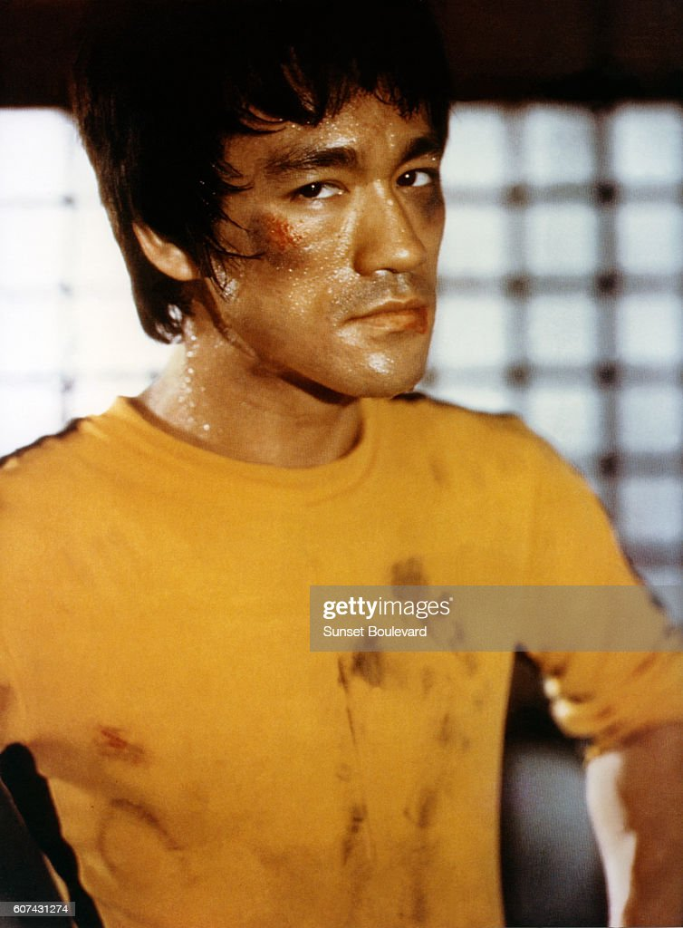 On the set of 'Game of Death' : News Photo