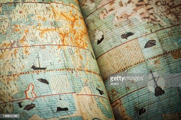 chinese ancient world map