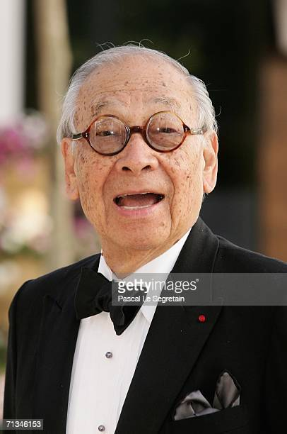 Chinese Architect Ieoh Ming Pei arrives at the Grand Theater to attend a special performance on June 30 2006 in Luxembourg as part of the Grand Duke...