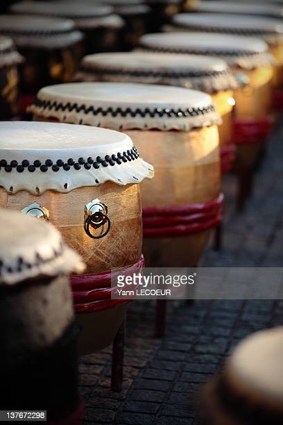 Chinese big drums