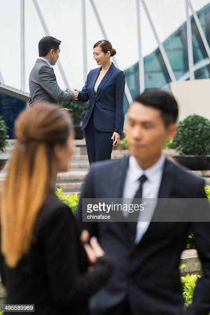 中国のビジネスチーム