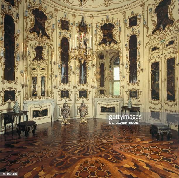 Chinese cabinet of Castle Schoenbrunn in Vienna Photography by Gerhard Trumler [Chinesisches Kabinett im Schloss Schoenbrunn in Wien Photographie von...