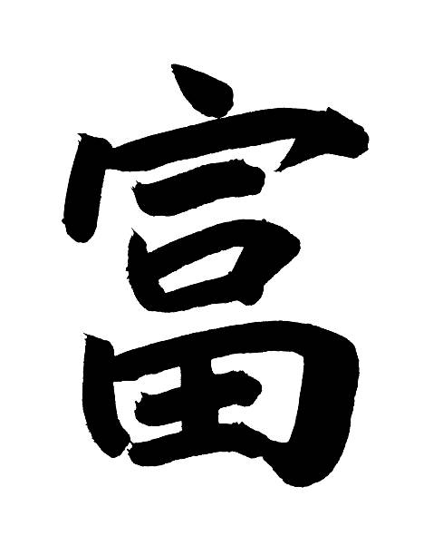 Chinese Calligraphy - Wealth Wall Art