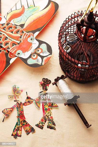 Chinese chess and shadow puppet