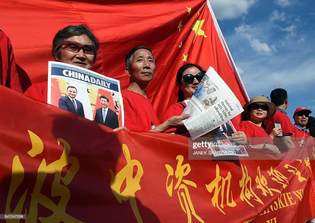 POLAND-CHINA-DIPLOMACY : News Photo