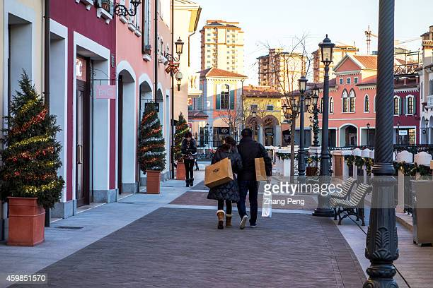 Chinese consumers in Florentia Village The Florentia Village a replica of Italian town located in Wuqing an outskirt station between Beijing and...
