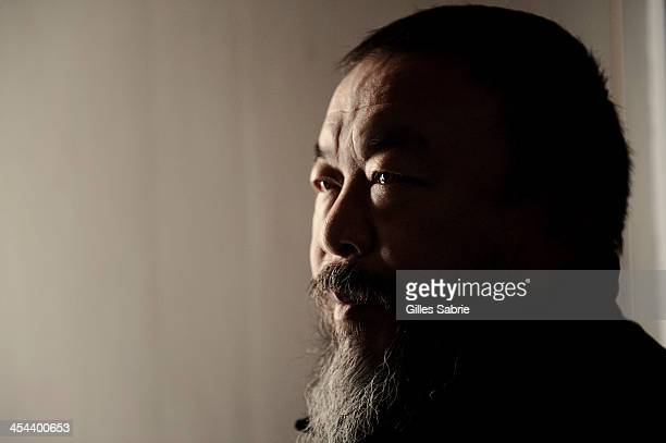 Chinese contemporary artist and dissident Ai Weiwei in Beijing a few months after his liberation from detention by Chinese authorities
