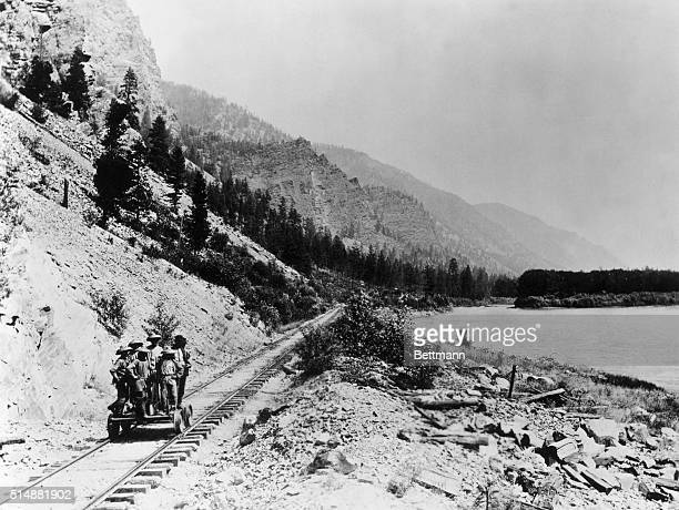 Chinese coolie labor on the Northwest Pacific Railway in the 1880s Due to the scarcity of labor following the US Civil War it was necessary to import...