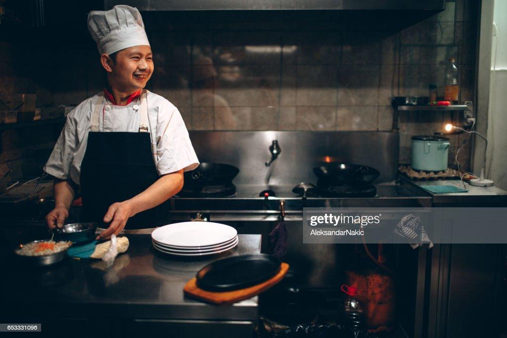 Kinesiska köket : Bildbanksbilder
