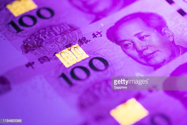 chinese currencies - chinese currency stock pictures, royalty-free photos & images