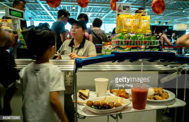 Chinese customers at an IKEA restaurant after shopping In 2016 the total sales of IKEA in China reached 125 billion yuan an increase of 189% and...