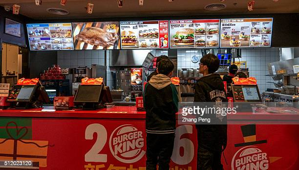 Chinese customers in a Burger King restaurant Burger King is on the first list of retail ends supporting Apple Pay Burger King the worlds second...