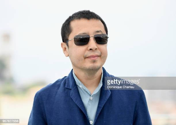 Chinese director Jia ZhangKe attends the photocall for 'Ash Is The Purest White ' during the 71st annual Cannes Film Festival at Palais des Festivals...