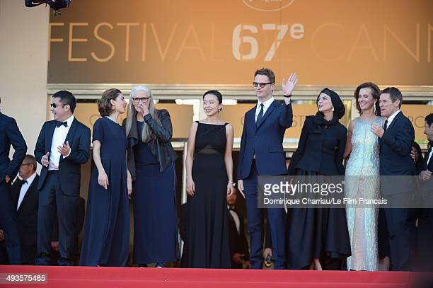 Chinese director Jia Zhangke US director Sofia Coppola President of the Feature films Jury Jane Campion South Korean actress Jeon Doyeon Danish...