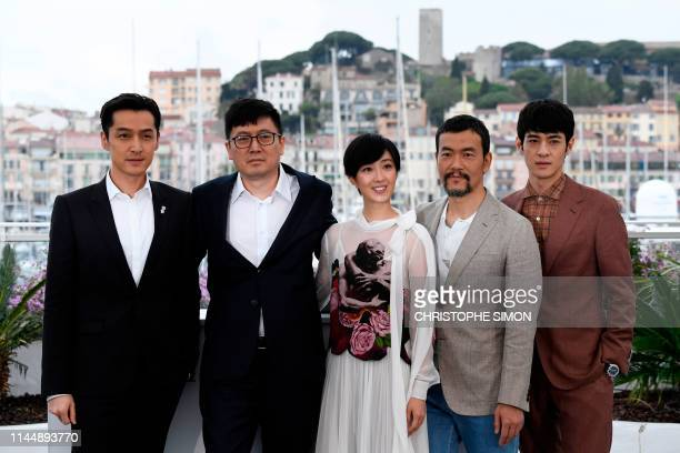 """FRA: """"The Wild Goose Lake (Le Lac Aux Oies Sauvages)"""" Photocall - The 72nd Annual Cannes Film Festival"""