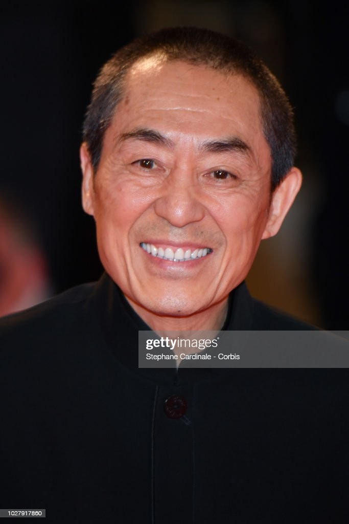 """ITA: """"Ying (Shadow) And 2018 Jaeger-LeCoultre Glory To The Filmaker Award to Zhang Yimou"""" Red Carpet Arrivals - 75th Venice Film Festival"""