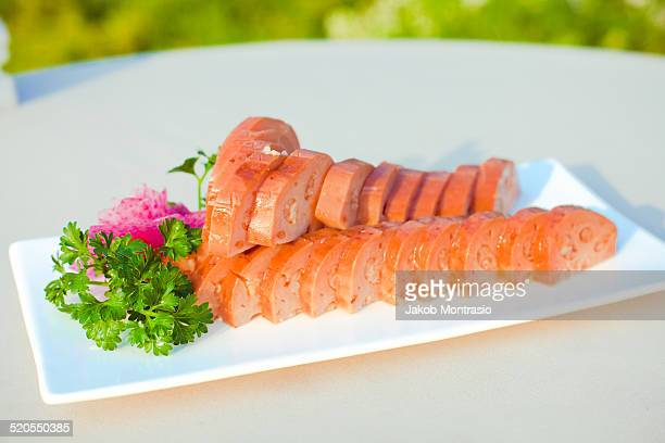 chinese dish sweet lotus desert - jakob montrasio stock pictures, royalty-free photos & images
