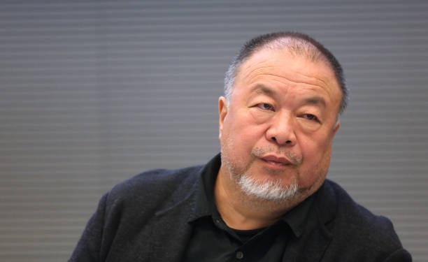 """DEU: Ai Weiwei Speaks At Panel Discussion """"Ich bin ein Hongkonger! Protecting Human Rights and Democracy"""""""