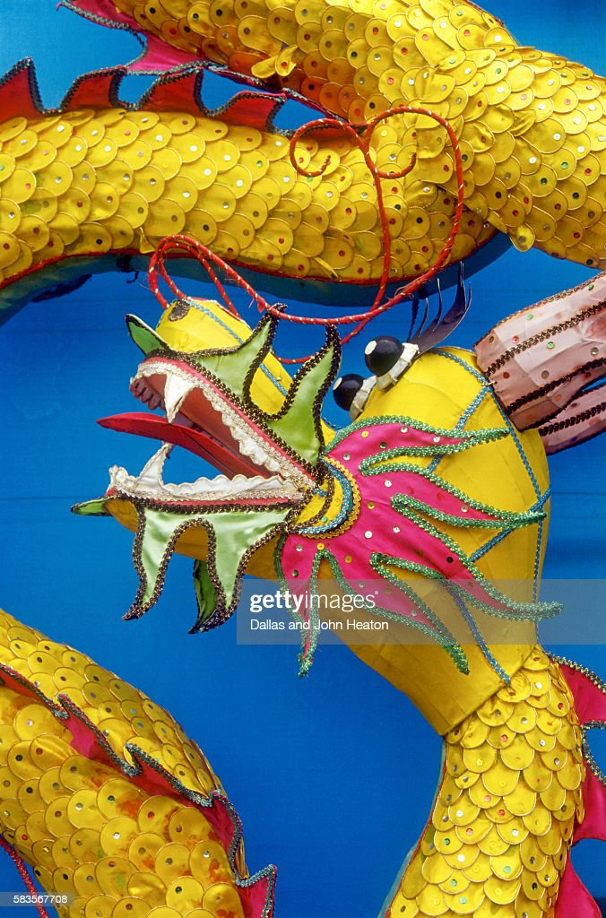 Chinese dragon, Shenzen, China : Stock Photo