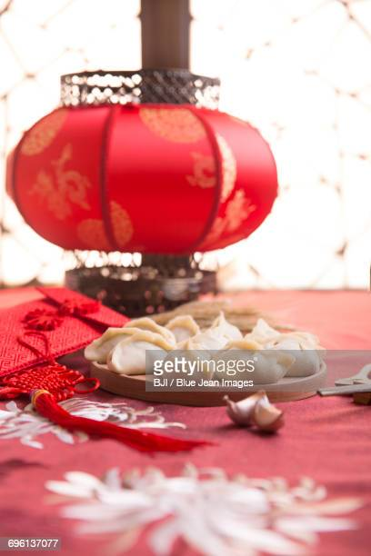 chinese dumplings - chinese lantern festival stock pictures, royalty-free photos & images
