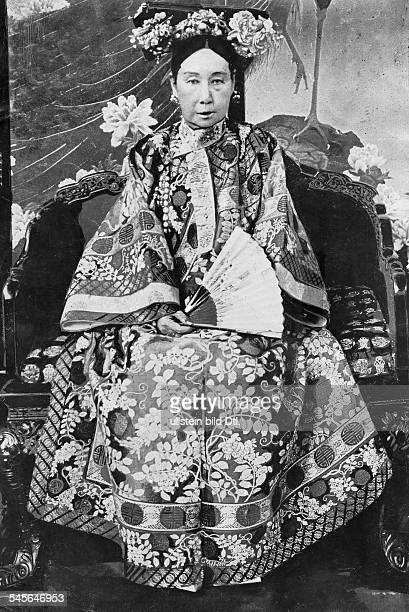Chinese Empress Dowager Cixi *18351908 portrait c1900