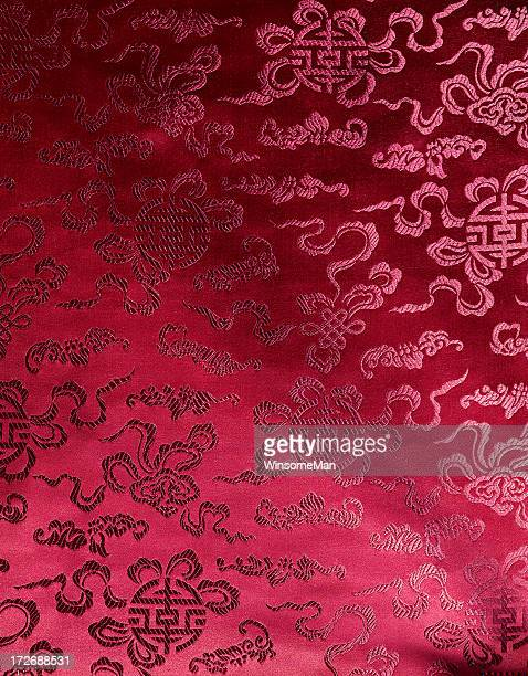 chinese fabric - chinese culture stock pictures, royalty-free photos & images