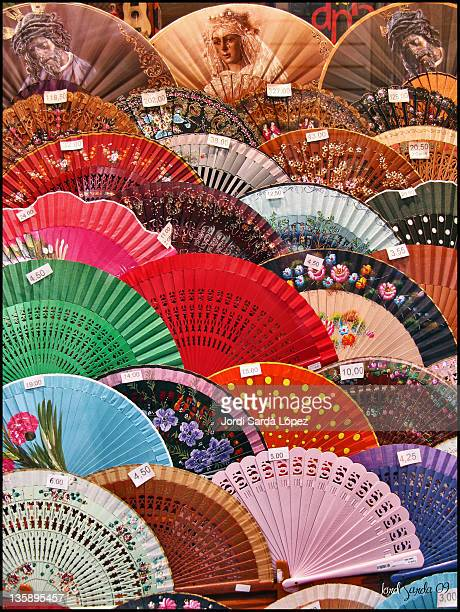 Chinese fan for sale in Seville