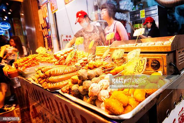 Chinese fast food market stand