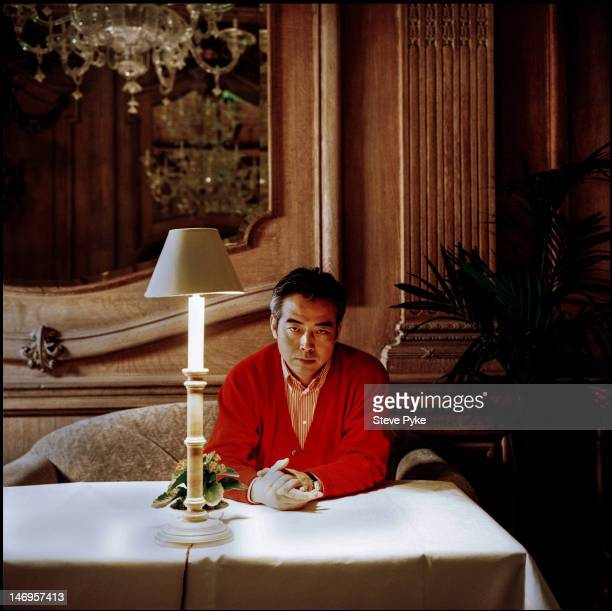 Chinese film director Chen Kaige, 21st November 1993.