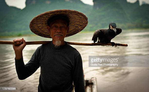 Chinese fisherman in Guilin