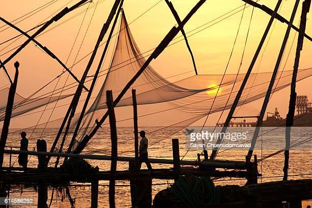 Chinese fishing nets_Kochi_India