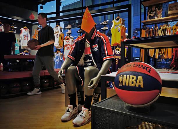 NBA store in Australia