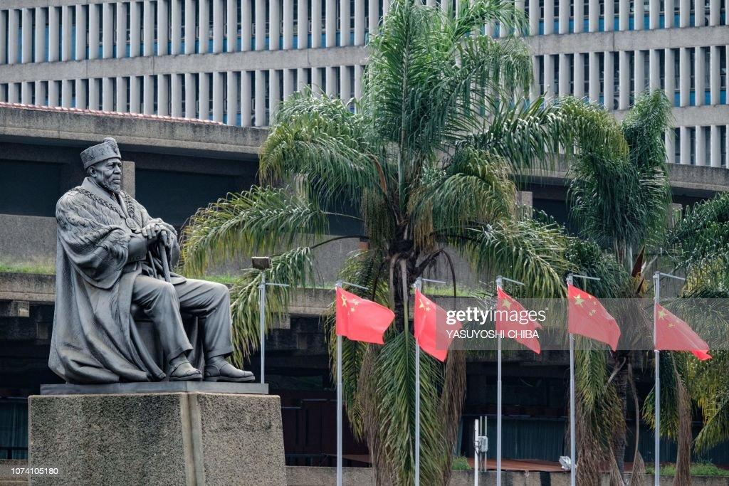 KENYA-CHINA-FLAG-EXPO : News Photo
