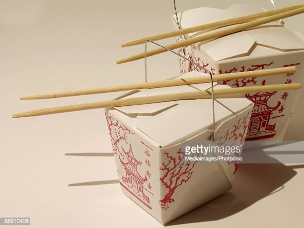 chinese food, chopsticks - chinese takeout stock pictures, royalty-free photos & images
