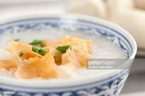 Chinese food rice porridge
